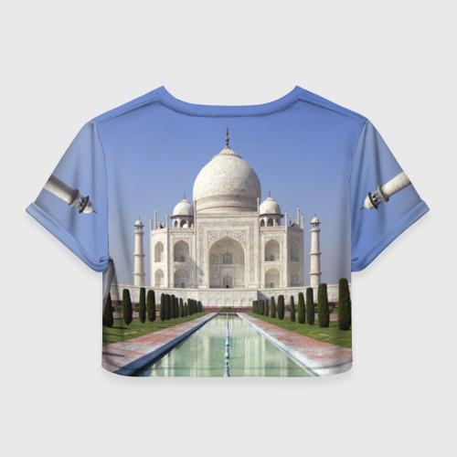 Женская футболка 3D укороченная  Фото 02, Индия