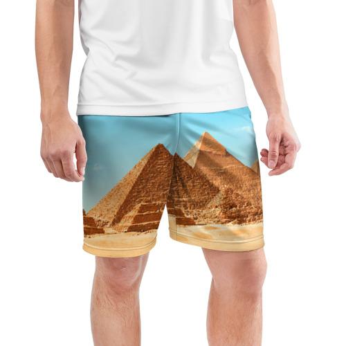Мужские шорты 3D спортивные  Фото 03, Египет