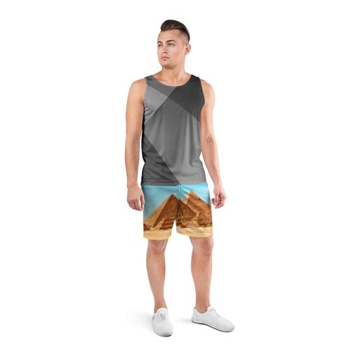Мужские шорты 3D спортивные  Фото 04, Египет