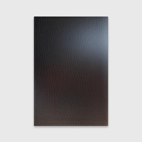 Обложка для паспорта матовая кожа Dark Фото 01