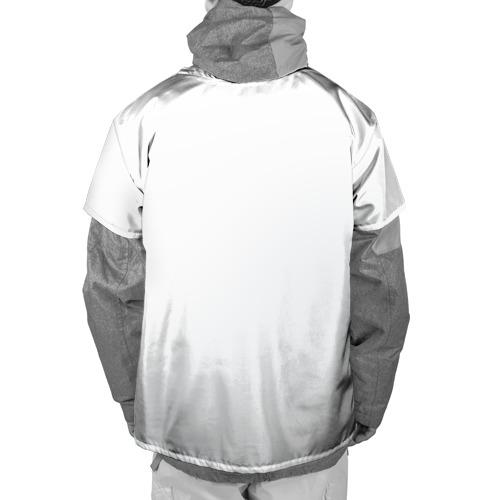 Накидка на куртку 3D  Фото 02, Красноволосая