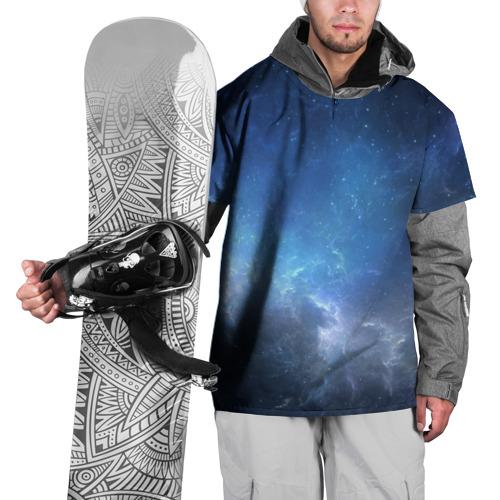 Накидка на куртку 3D  Фото 01, Космос