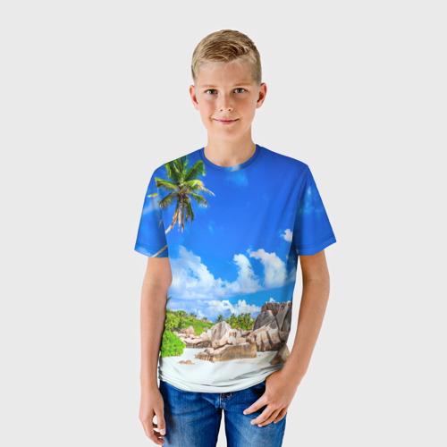 Детская футболка 3D Сейшельские острова