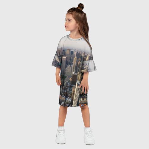 Детское платье 3D  Фото 03, New York