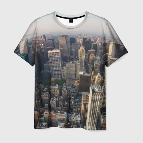 Мужская футболка 3D  Фото 01, New York