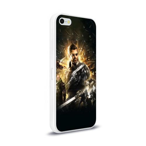 Чехол для Apple iPhone 5/5S силиконовый глянцевый  Фото 02, Deus Ex: Mankind Divided