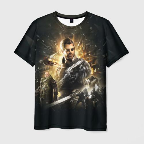 Мужская футболка 3D  Фото 03, Deus Ex: Mankind Divided