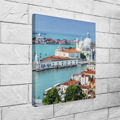 Холст квадратный  Фото 03, Венеция