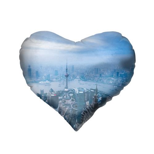 Подушка 3D сердце  Фото 02, Шанхай