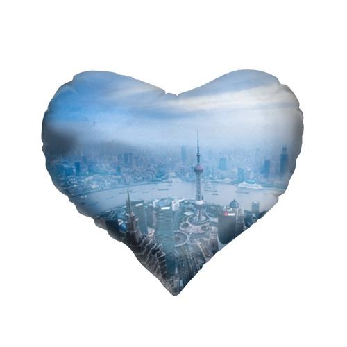 Подушка 3D сердце  Фото 01, Шанхай