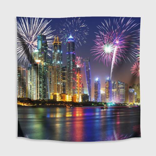 Скатерть 3D  Фото 02, Салют в Дубае