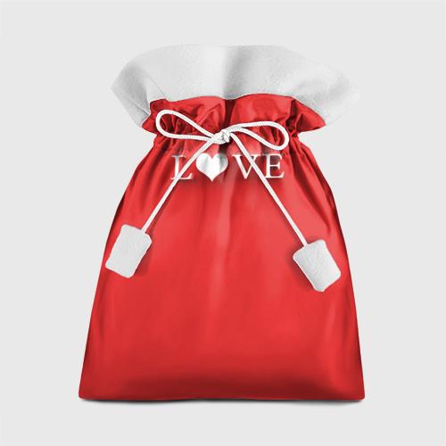 Подарочный 3D мешок LOVE