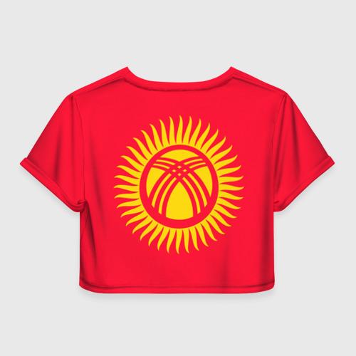 Женская футболка 3D укороченная  Фото 02, Киргизия