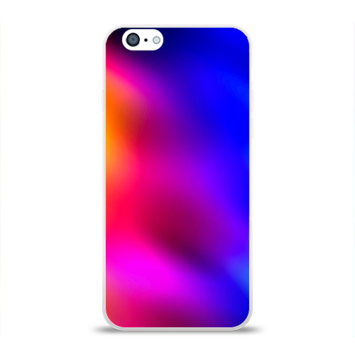 Чехол для Apple iPhone 6 силиконовый глянцевый Краска Фото 01