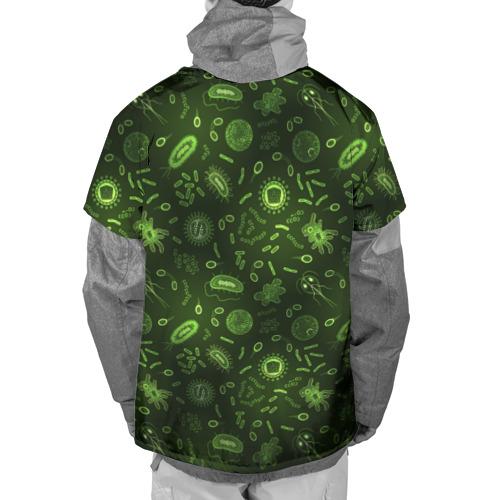 Накидка на куртку 3D  Фото 02, Микробы