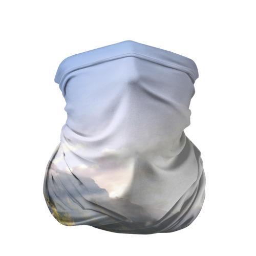 Бандана-труба 3D  Фото 01, Горное озеро