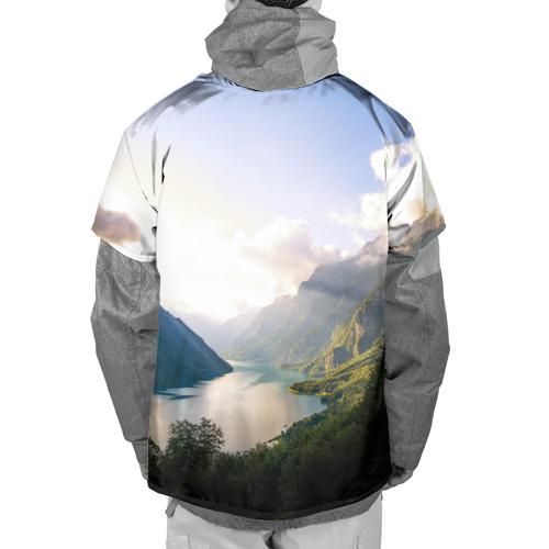 Накидка на куртку 3D  Фото 02, Горное озеро