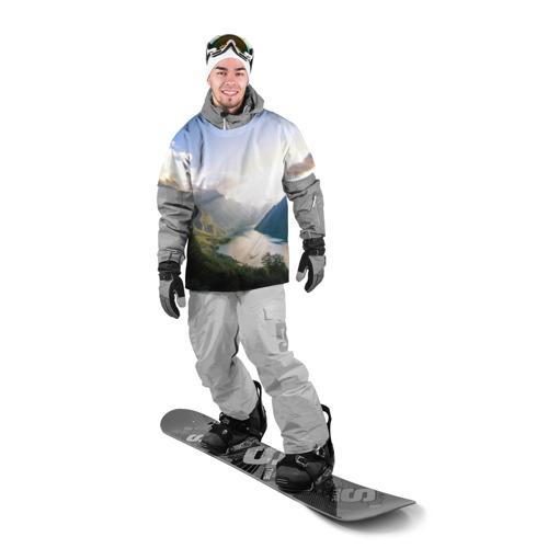 Накидка на куртку 3D  Фото 03, Горное озеро