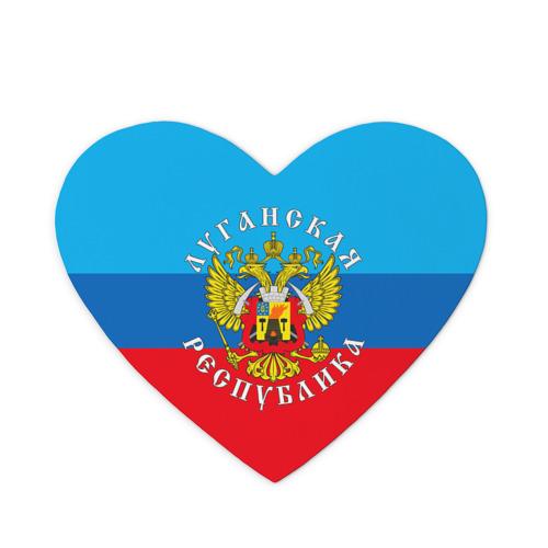 Коврик для мыши сердце  Фото 01, Луганская республика