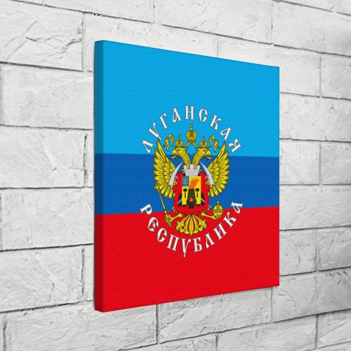 Холст квадратный  Фото 03, Луганская республика