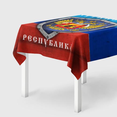 Скатерть 3D  Фото 01, Луганская республика