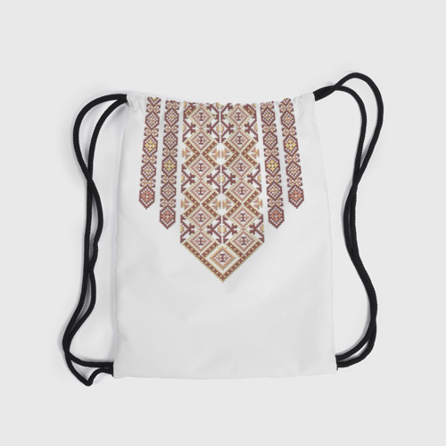 Рюкзак-мешок 3D  Фото 04, Вышивка