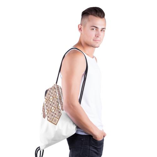 Рюкзак-мешок 3D  Фото 03, Вышивка