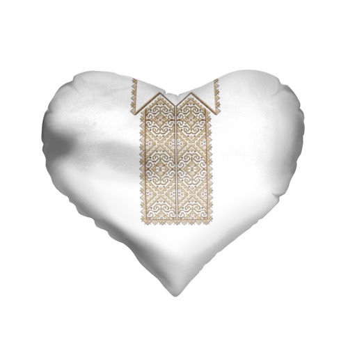 Подушка 3D сердце  Фото 01, Вышивка 8