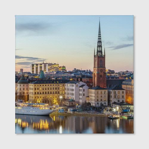 Холст квадратный  Фото 02, Швеция