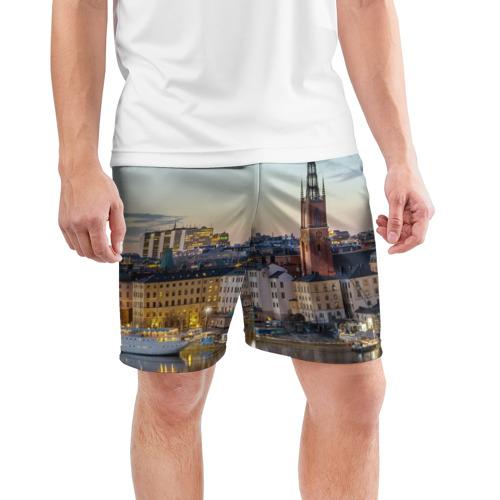 Мужские шорты 3D спортивные  Фото 03, Швеция