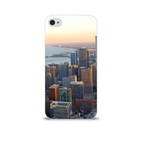 Чехол для Apple iPhone 4/4S soft-touch  Фото 01, Нью-Йорк