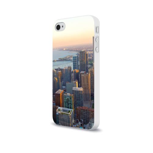 Чехол для Apple iPhone 4/4S soft-touch  Фото 03, Нью-Йорк