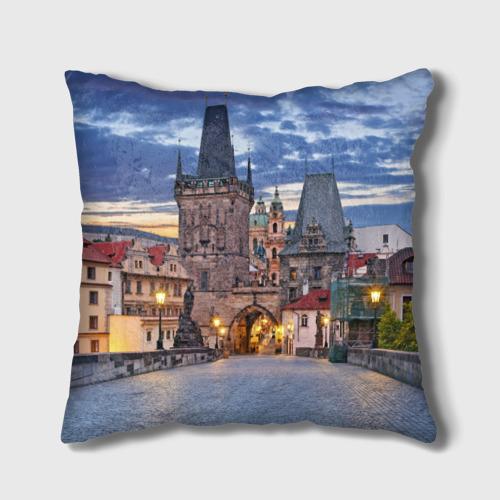 Подушка 3D  Фото 02, Прага