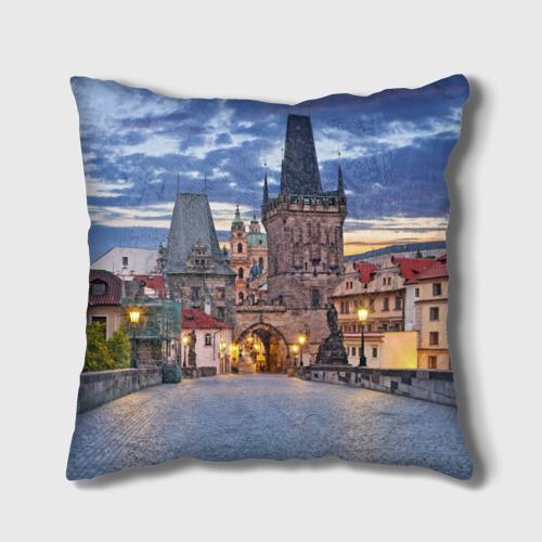 Подушка 3D  Фото 01, Прага