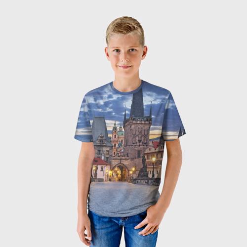 Детская футболка 3D Прага