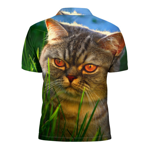 Мужская рубашка поло 3D  Фото 02, Британец