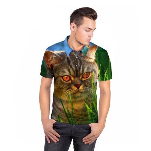 Мужская рубашка поло 3D  Фото 05, Британец