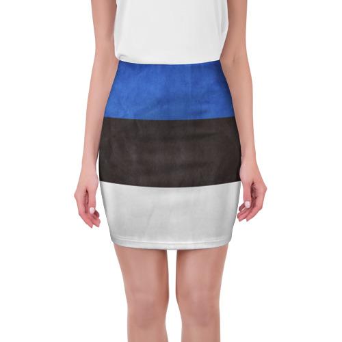 Мини-юбка 3D Эстония от Всемайки