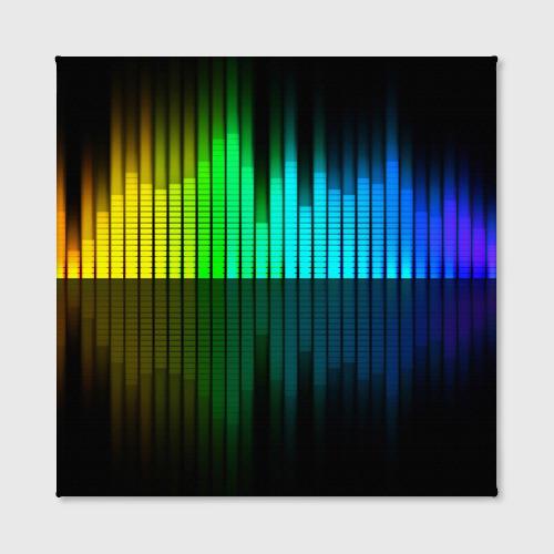 Холст квадратный  Фото 02, Эквалайзер
