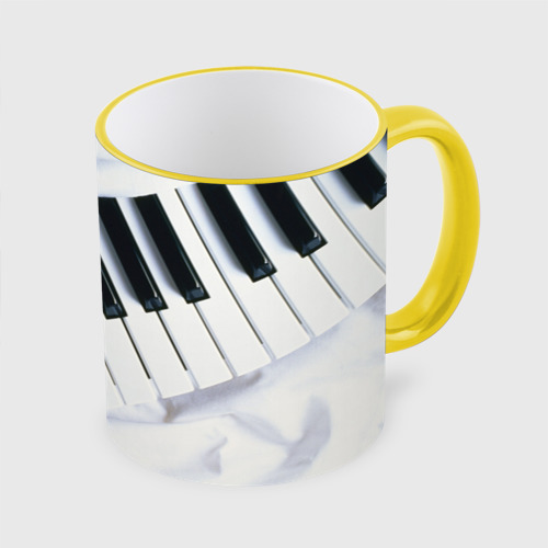 Кружка с полной запечаткой Клавиши