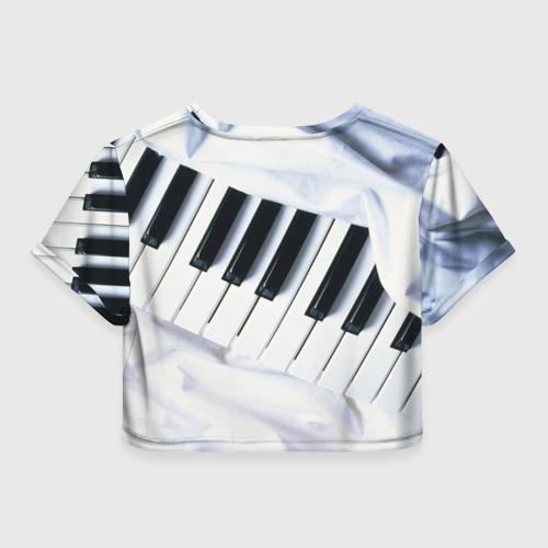 Женская футболка Cropp-top  Фото 02, Клавиши