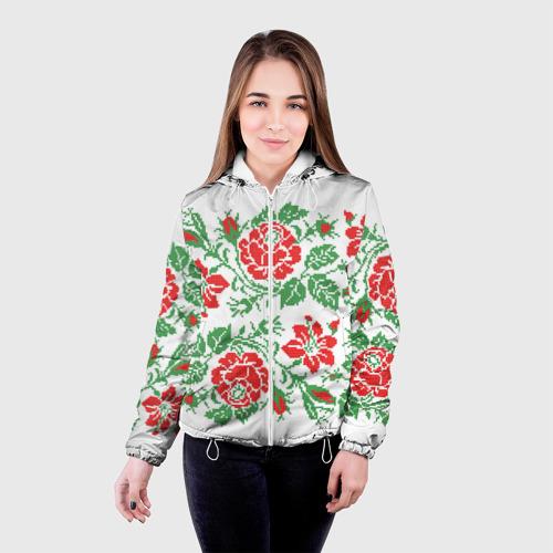 Женская куртка 3D  Фото 03, Вышивка 39