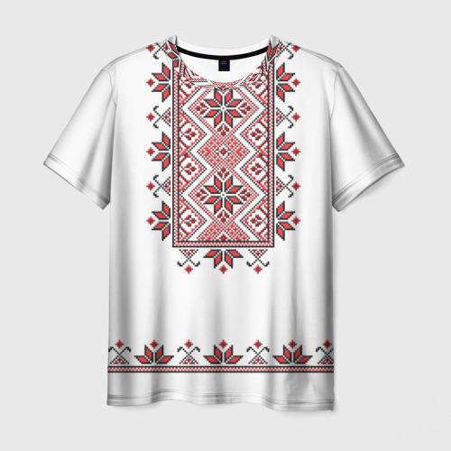 Мужская футболка 3D  Фото 01, Вышивка 41
