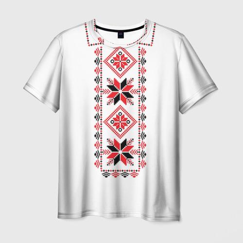 Мужская футболка 3D  Фото 01, Вышивка 48