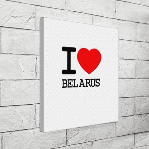 Холст квадратный  Фото 03, Люблю Беларусь 3