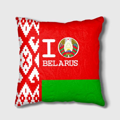 Подушка 3D  Фото 01, Люблю Беларусь 4