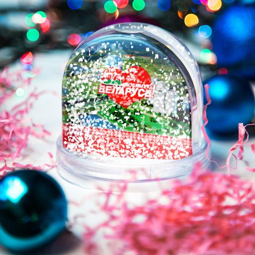Водяной шар со снегом  Фото 04, За Беларусь!