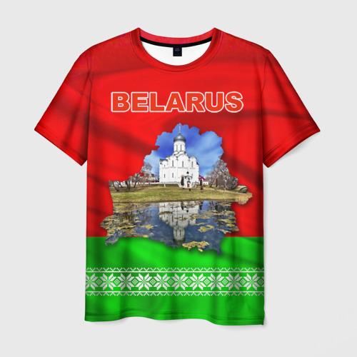 Мужская футболка 3D  Фото 01, Belarus 13