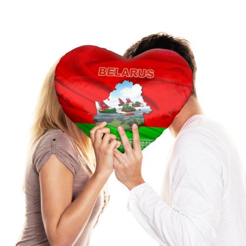 Подушка 3D сердце  Фото 03, Belarus 16