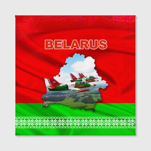 Холст квадратный  Фото 02, Belarus 16